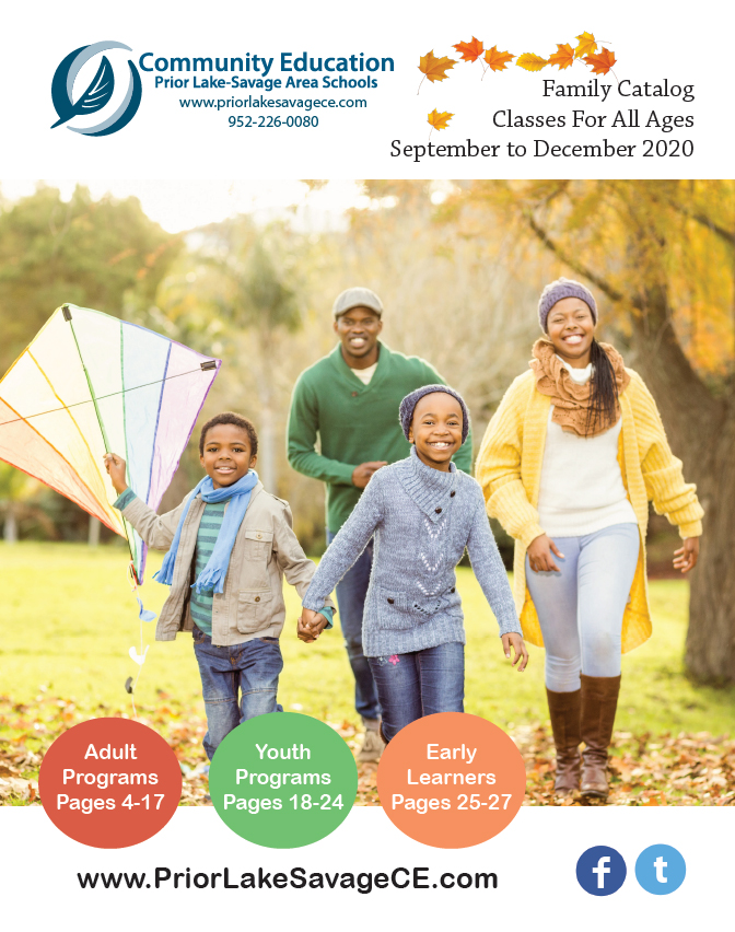 Community Education Fall Family Catalog